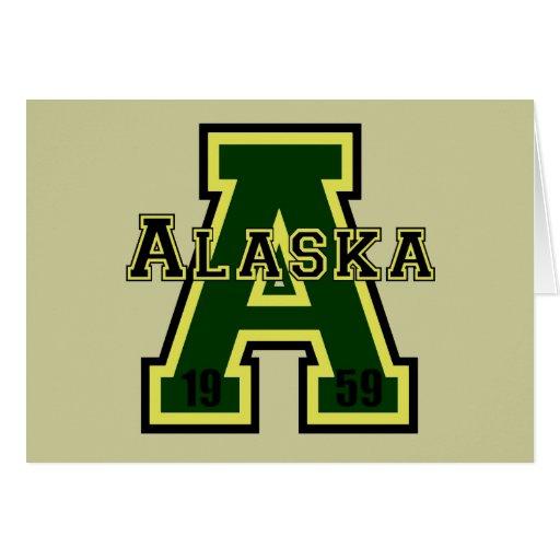 "Verde de Alaska ""A"" Felicitacion"