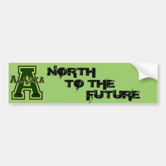 """Verde de Alaska """"A"""" Pegatina Para Auto"""