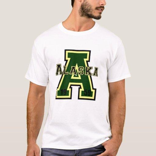 """Verde de Alaska """"A"""" Playera"""