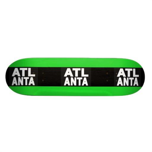 Verde de Atlanta 2 Patines Personalizados