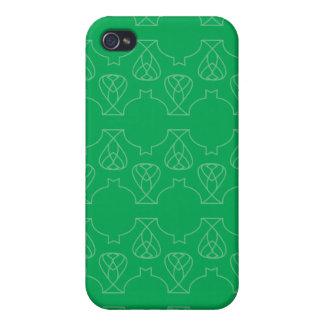 Verde de Avante Garde iPhone 4 Cárcasas