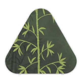 Verde de bambú verde altavoz bluetooth