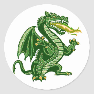 Verde de Draken Etiqueta