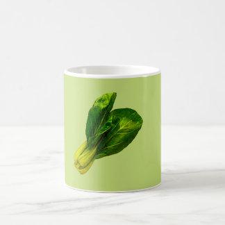Verde de guisante Bok Choy Taza