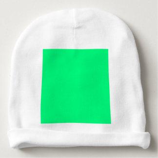 Verde de Guppie Gorrito Para Bebe
