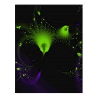 verde de hadas del polvo tarjeta postal