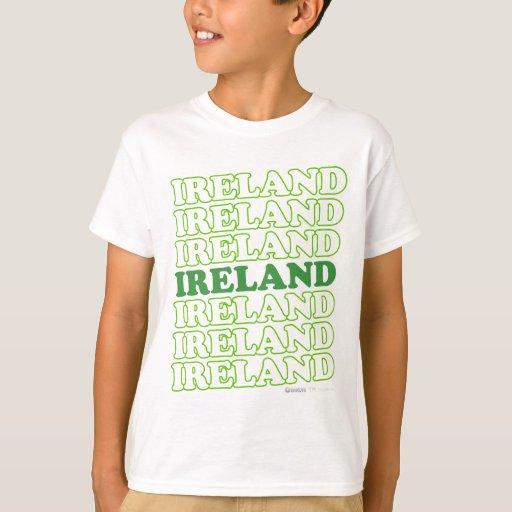 Verde de Irlanda - el día de St Patrick Playera