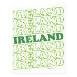 Verde de Irlanda - el día de St Patrick Postal