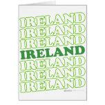 Verde de Irlanda - el día de St Patrick Felicitaciones