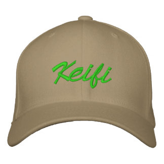 Verde de Keifi Gorras Bordadas