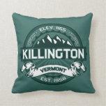 """Verde de Killington """"Vermont """" Almohadas"""