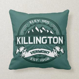"""Verde de Killington """"Vermont """" Almohada"""