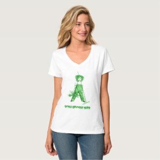 ¡Verde de la camisa del regalo del jardín del Día