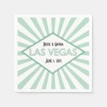 Verde de la carpa de Las Vegas que casa las servil