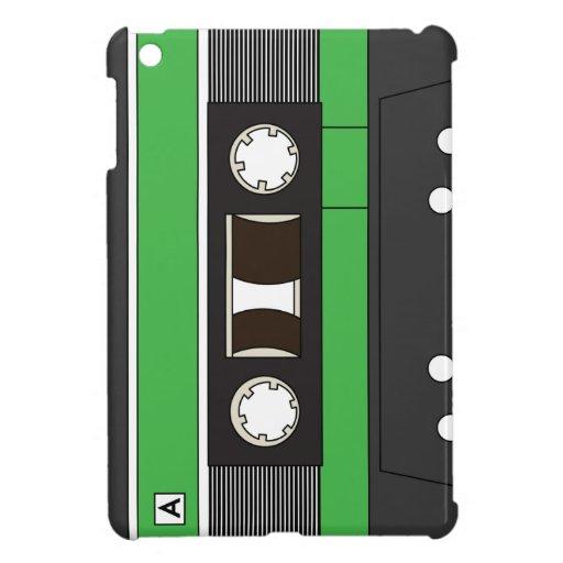Verde de la cinta de casete iPad mini cobertura