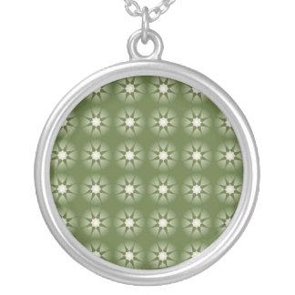 verde de la colección de la estrella colgante redondo