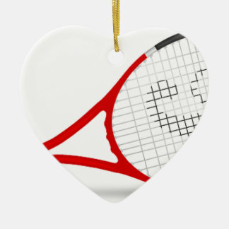 verde de la corte del equipo del juego de la adorno de cerámica en forma de corazón
