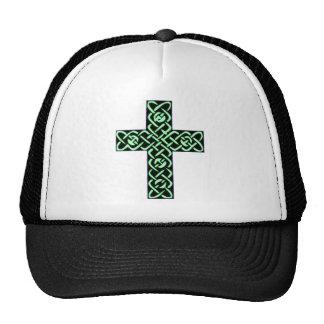 Verde de la cruz céltica 7 gorros