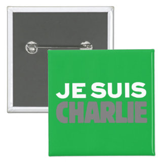 Verde de la cubierta de la Charlie-Revista de Je Chapa Cuadrada 5 Cm