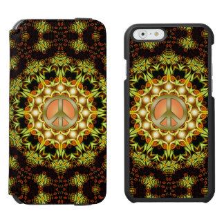 Verde de la energía el | de la naturaleza del funda billetera para iPhone 6 watson