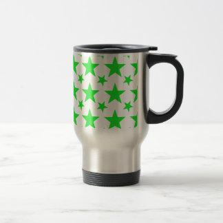 Verde de la estrella 2 tazas