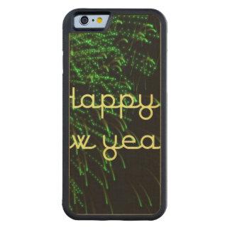 verde de la Feliz Año Nuevo Funda De iPhone 6 Bumper Arce
