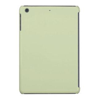Verde de la flor de lis para el boda francés del fundas de iPad mini retina