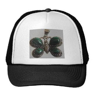 verde de la imagen de la mariposa gorro