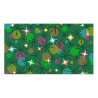 Verde de la plantilla de la tarjeta de visita de l