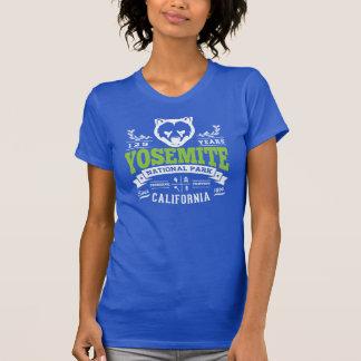 Verde de la primavera del vintage de Yosemite Camiseta