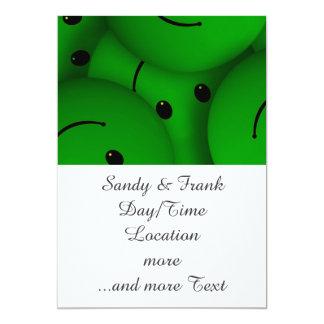 Verde de la sonrisa comunicados personalizados