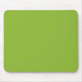 Verde de la sopa de guisantes alfombrillas de ratones