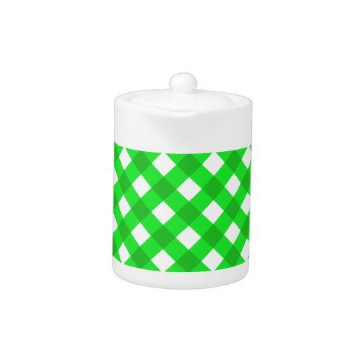 Verde de la tela escocesa 1