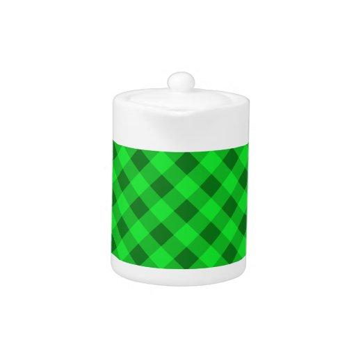 Verde de la tela escocesa 2