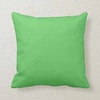Verde de las algas cojin
