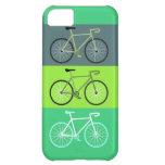 Verde de las bicicletas