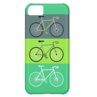 Verde de las bicicletas funda para iPhone 5C