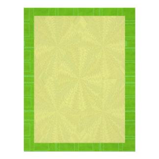 Verde de las sombras - añada su imagen de las membretes personalizados
