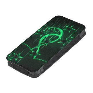 Verde de los amantes de la noche estrellada funda para iPhone 5