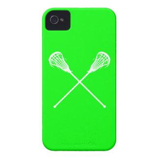 verde de los palillos de LaCrosse del iPhone 4 iPhone 4 Carcasa