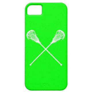 verde de los palillos de LaCrosse del iPhone 5 iPhone 5 Carcasa