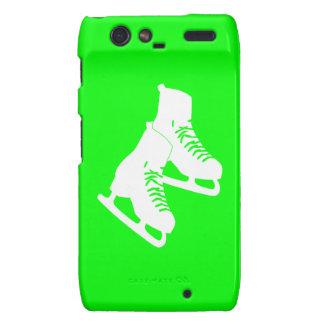 Verde de los patines de hielo de Droid RAZR Motorola Droid RAZR Carcasas