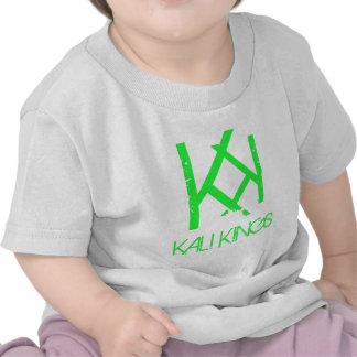 verde de los reyes del kali camiseta
