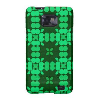 Verde de Luise del modelo Galaxy S2 Fundas
