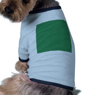 Verde de mar camiseta de perrito