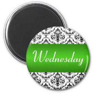 Verde de miércoles - imán del damasco
