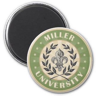 Verde de Miller de la universidad Imán Redondo 5 Cm