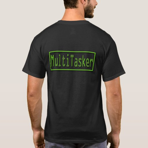 Verde de MultiTasker Playera