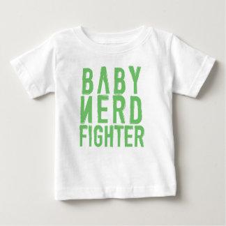 Verde de Nerdfighter del bebé Camisas