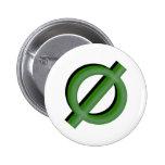 Verde de Neutrois 3d Pin